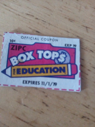 1 box tops for education