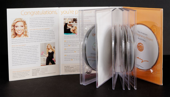 TRACY ANDERSON: The Pregnancy Project 9-DVD Box Set * Pregnant