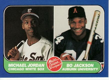 Free Michael Jordan Bo Jackson Rare Early 1990s Baseball