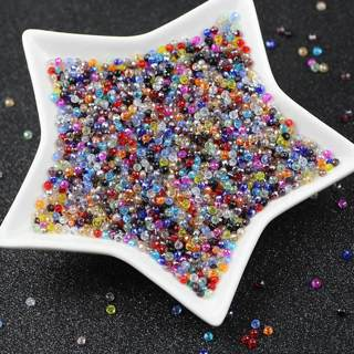 [GIN FOR FREE SHIPPING] 200Pcs Austria Spacer Rondelle Crystal Beads