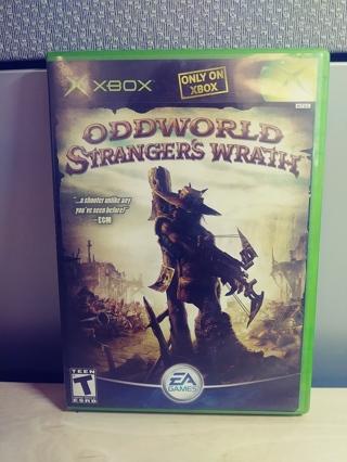 XBOX ODDWORLD Strangers Wrath Game