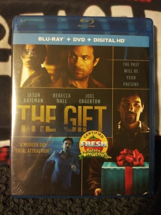 THE GIFT BR+DVD+DIG HD Factory Sealed