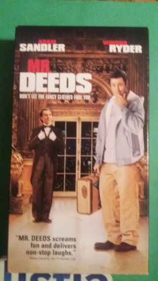 vhs mr deeds free shipping