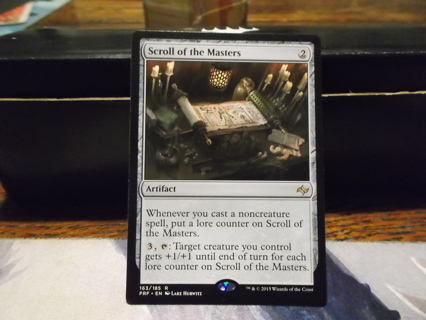 MTG: Rare Scroll of the Masters from Fate Reforged