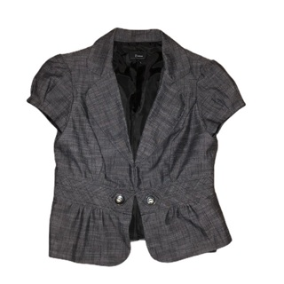 B WEAR Short Sleeve Blazer Large