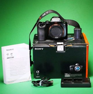 Free: SONY A7 FULL FRAME DIGITAL CAMERA, BATTERY & CHARGER, MANUAL