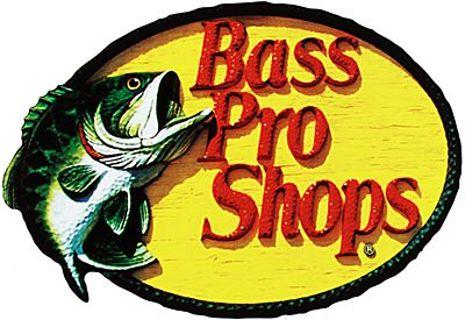 Bass pro shops sticker