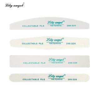 LiLy Angel 4 PCS/set  Nail Art Double Sided Sanding Buffer 200/220 Nail Files Sanding for Nail Tip