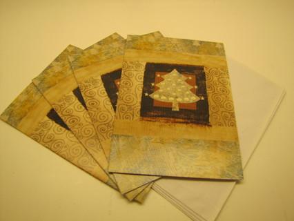 Christmas Cards - Neutral Tone Christmas Tree