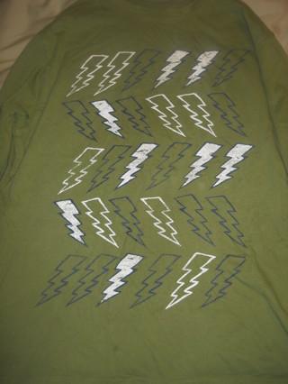 boys XL (14) Crazy 8  LIGHTNING long sleeve shirt