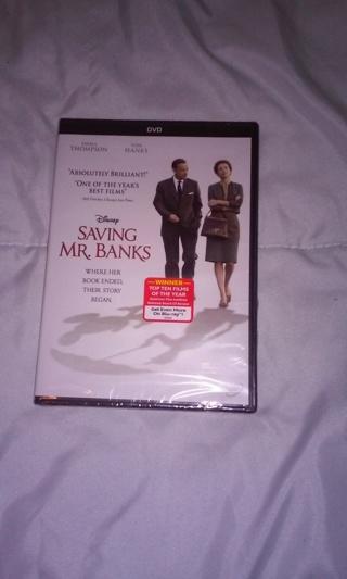 New Disney Saving Mr. Banks DVD