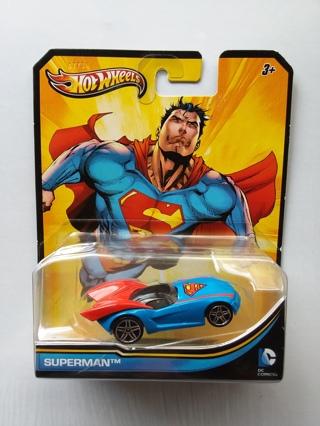Hot Wheels DC Comics SUPERMAN 2012 Die-Cast Car