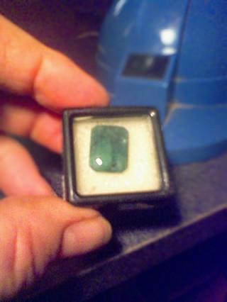 Zambian Emerald Gift W/Gin