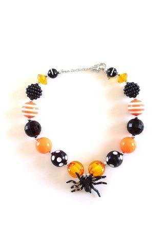 Halloween Spider Necklace #2