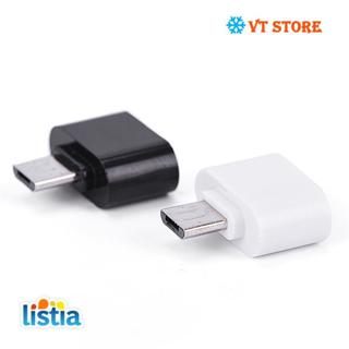 Colorful Mini OTG Cable USB OTG Adapter Micro USB to USB Converter for Tablet PC Android For Samsung