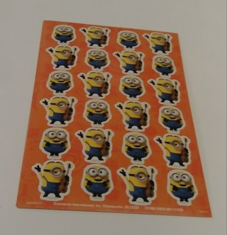 MINION'S STICKERS 4 SHEETS