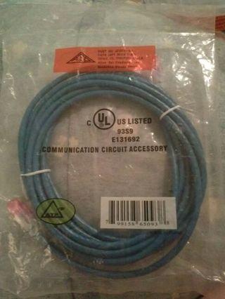 Cat.6 14ft blue cord
