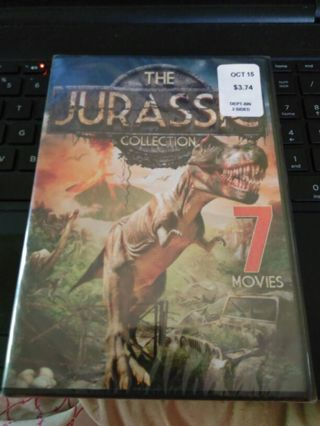 The Jurassic Collection DVD unopened