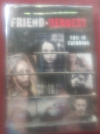Friend Request DVD Factory Sealed