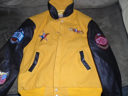 LA Lakers Yellow NBA All Star 2004 LIMITED EDITION Jacket by Jeff Hamilton
