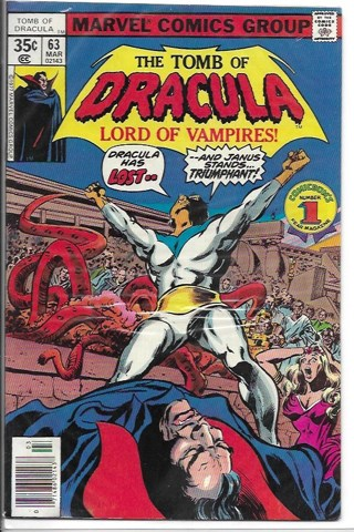 The Tomb of Dracula #63 Marvel Comics Group