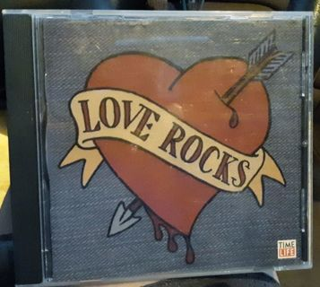 LOVE ROCKS! 2006 awesome classic rock love song collection GIN=Free Shipping