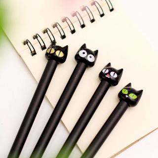 0.5mm Cute Kawaii Cat Gel Pen School Office Writing Supplies Korean Stationery Japanese For Kids B
