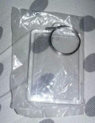 Photo insert key chain