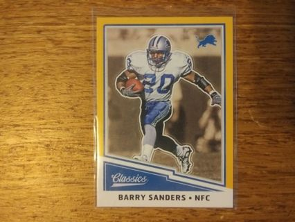 Panini Barry Sanders (Gold)