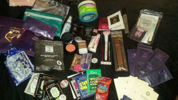 *Relist Once again Last time* Over 50 pc lot BBW, Lorac, Perfectly Posh, Luxie etc..Trial & fullsize