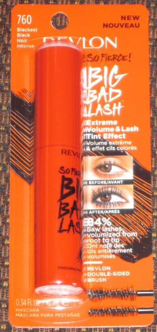 NEW SEALED Revlon So Fierce! Big Bad Lash Mascara in Blackest Black