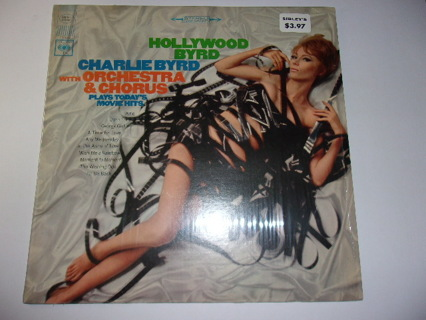 Charlie Byrd Hollywood Byrd-Columbia CS 9452, LP Exc