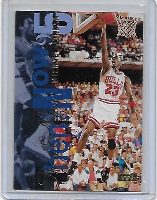 Michael Jordan 1994-95 Upper Deck Then & Now #359