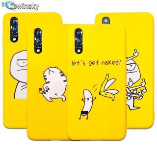 Soft Silicone Cute Cartoon Lazy Cats Phone Case For Huawei P20 lite P20 pro P Smart Nova 3i Case F
