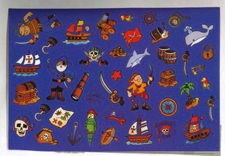 Pirate Stickers # 3