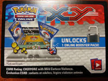Pokemon X and Y Online Booster Pack Card Codes 5 Count Digital Delivery