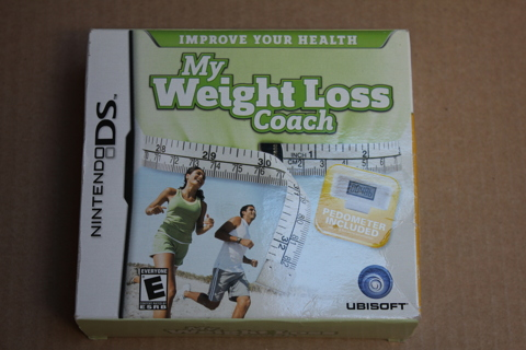 USED My Weight Loss Coach game for Nintendo DS