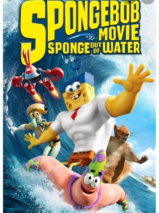 The Spongebob Movie: Sponge out of Water HD digital Vudu
