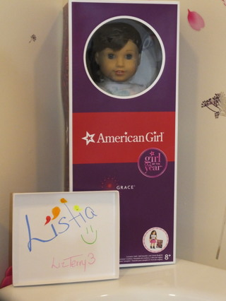"BNIP American Girl Doll ""GRACE"""