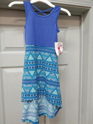 NWT! Bobbie Brooks Girls Hi Lo Dress--Size 4/5