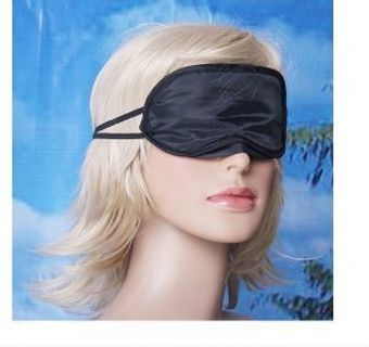 BRAND NEW Navy Blue Eye Mask Shade Nap Cover Blindfold