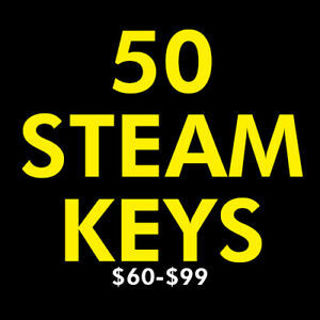50 Random Steam Game Keys!