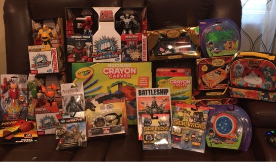 """Merry Christmas """"2016"""" Toys, Toys & more Toys!!!"""