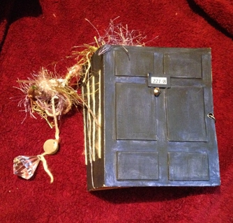 Sherlock Holmes Handmade Journal