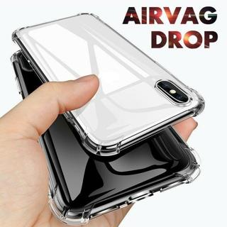 For iPhone XR XS MAX XS 8 7 Plus 6S Clear ShockProof Bumper Sillicone Case Cover