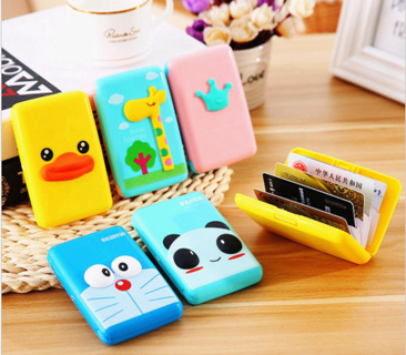 New 3D Cartoon ID Credit Card Wallet Holder Coin Purse Pocket Case Box Kids Gift
