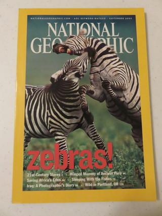 National Geographic Magazine September 2003