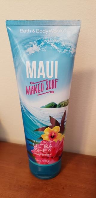 """NEW - Bath & Body Works - """"Maui Mango Surf"""" - Body Cream"""