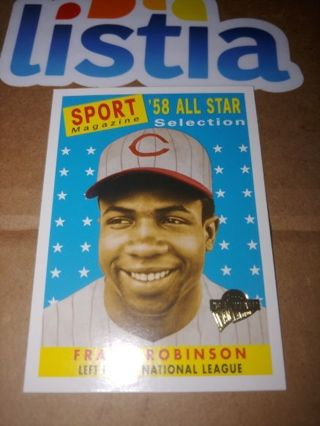 FRANK ROBINSON ⭐REDS '58 ALL-STAR ⭐2004 TOPPS FAN FAVORITES ⭐ FREE $HIPPING