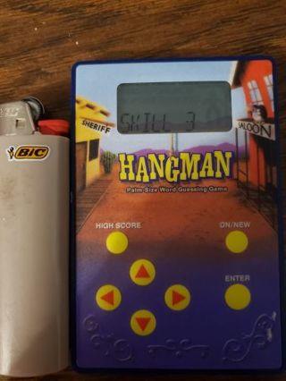 Hangman plam Size hand held Game